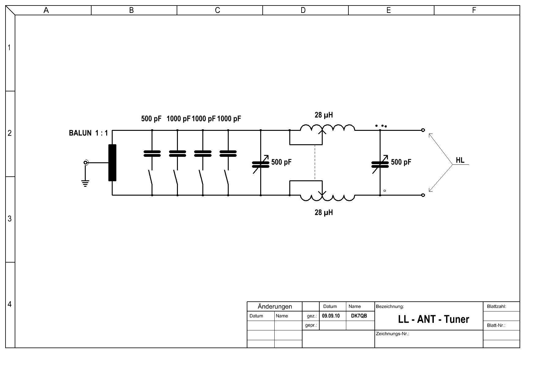 Fragen zu einem LL - ANT - Tuner - Antennenanpassung - Forum der ...